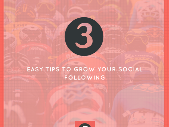 3 easy ways to grow your social following